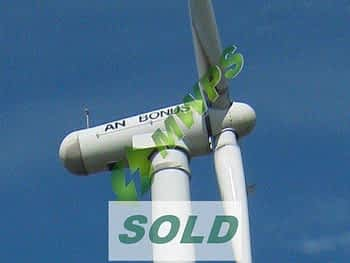 BONUS 600 Mk III Wind Turbine For Sale