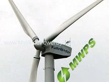 FUHRLANDER FL250 Wind Turbines Sale