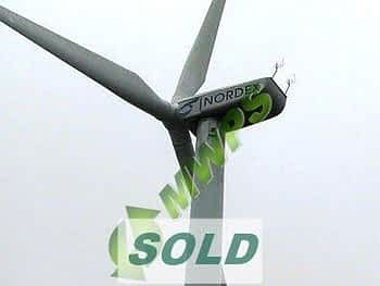 NORDEX N52 - 1MW Used Wind Turbine Sale