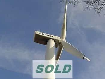 NORDEX N54 Used Wind Turbine Sale