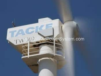 TACKE TW300 Wind Turbines Sale