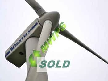 VESTAS V44 - 600kw Used Wind Turbine Sale